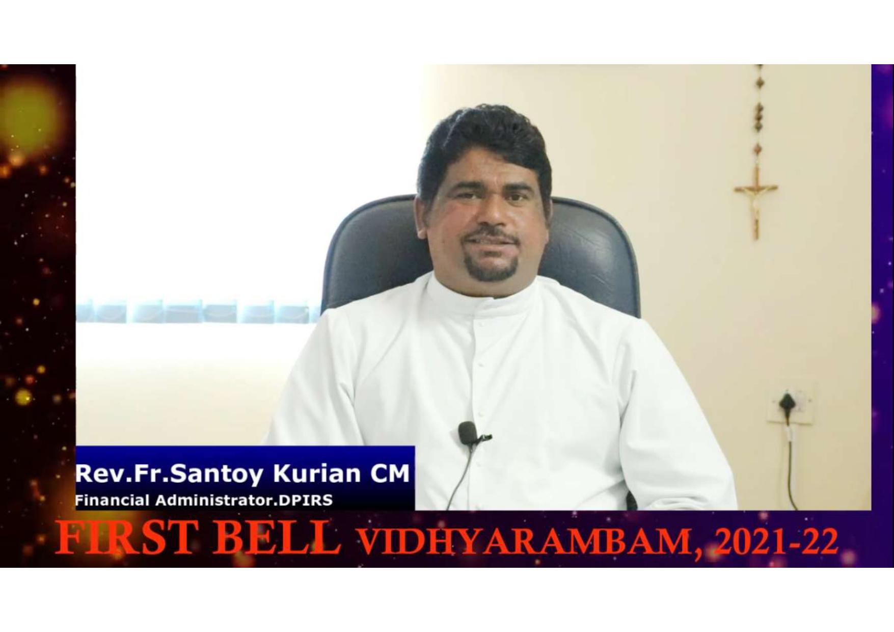 FIRST BELL - VIDHYARAMBAM 2021-2022