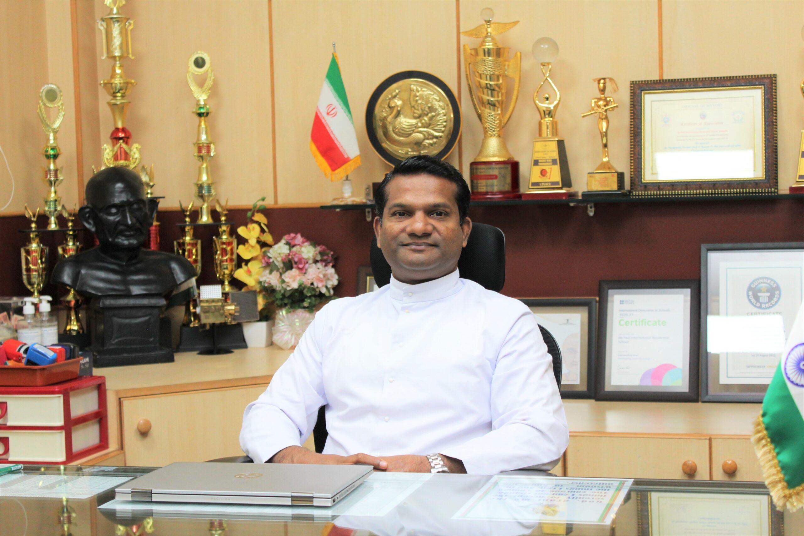 Fr Biju Scaria CM