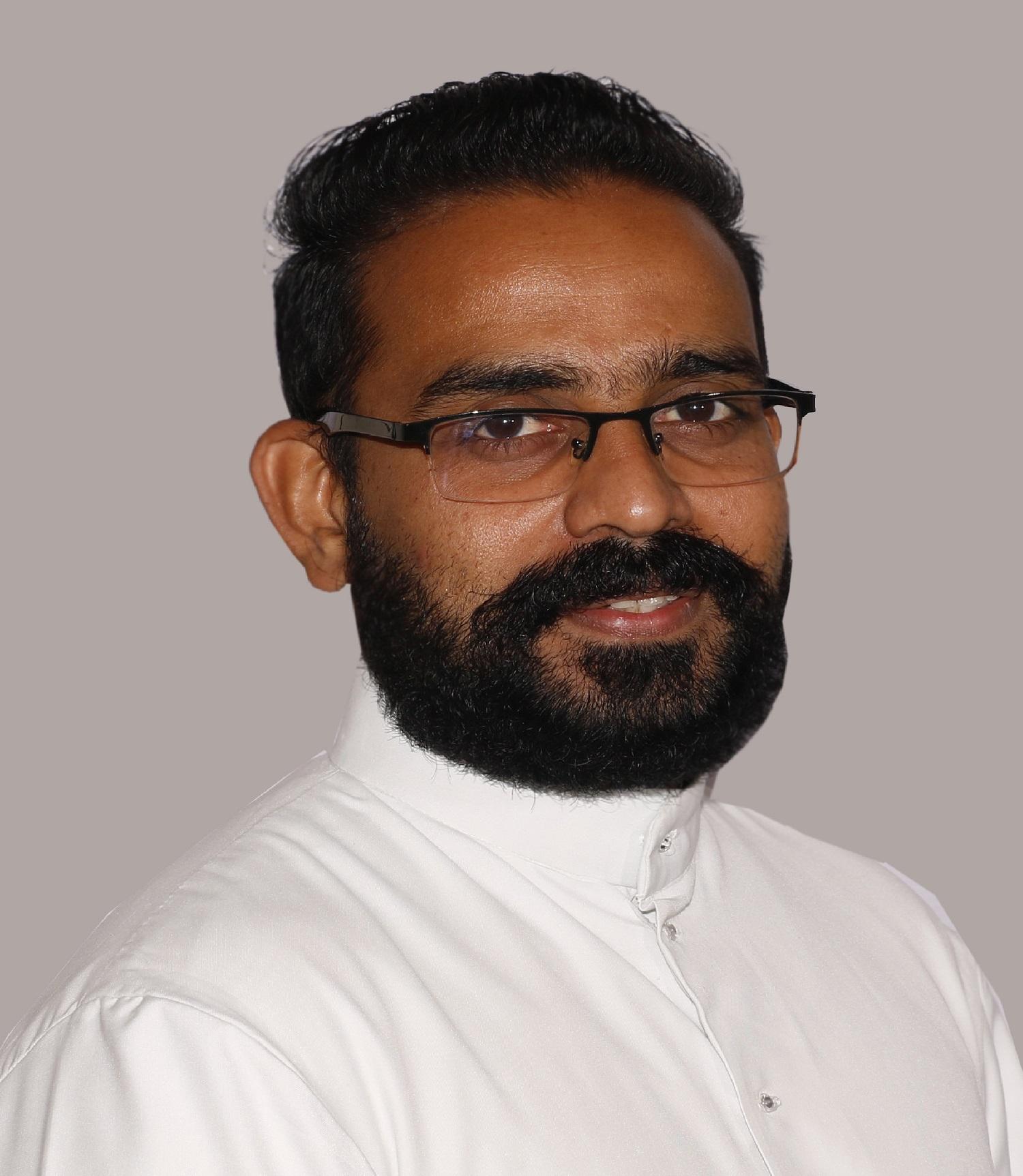 Rev. Fr. Sherin D CM